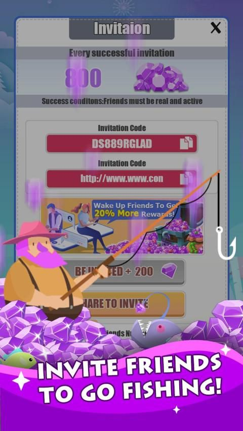 Fish for Money – Hook up fish and happy fishing screenshot 1