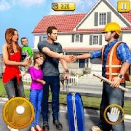 New Family House Builder Happy Family Simulator