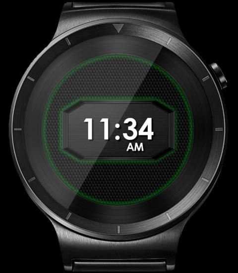 Daring Carbon HD WatchFace Widget Live Wallpaper 2 تصوير الشاشة