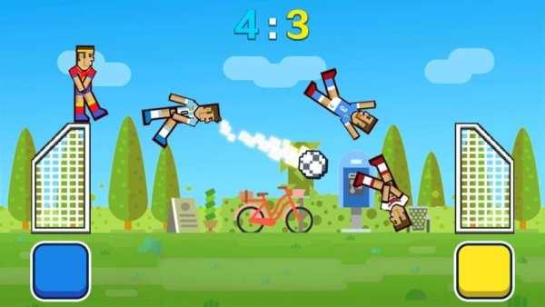Happy Soccer Physics - 2017 Funny Soccer Games screenshot 4