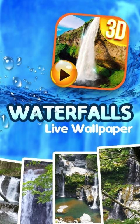 Waterfall Sound Live Wallpaper 13 تصوير الشاشة