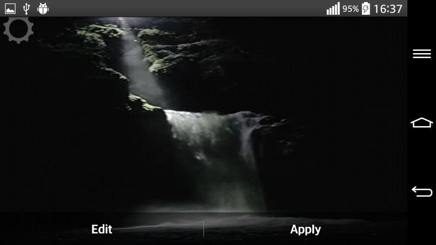 Waterfall Sound Live Wallpaper 5 تصوير الشاشة