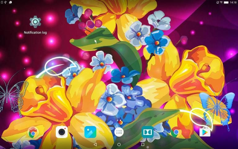 Abstract Flower Live Wallpaper скриншот 4