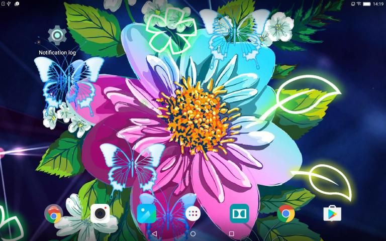 Abstract Flower Live Wallpaper скриншот 3