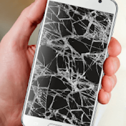 Crack your Mobile Screen prank icon