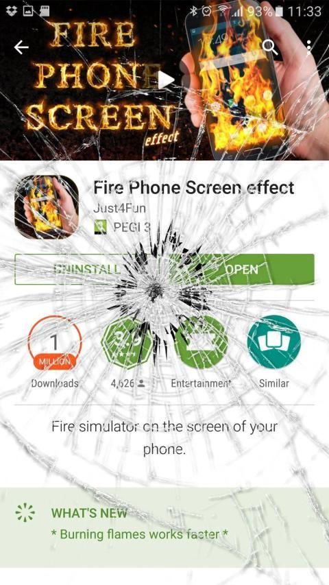 Crack your Mobile Screen prank screenshot 6