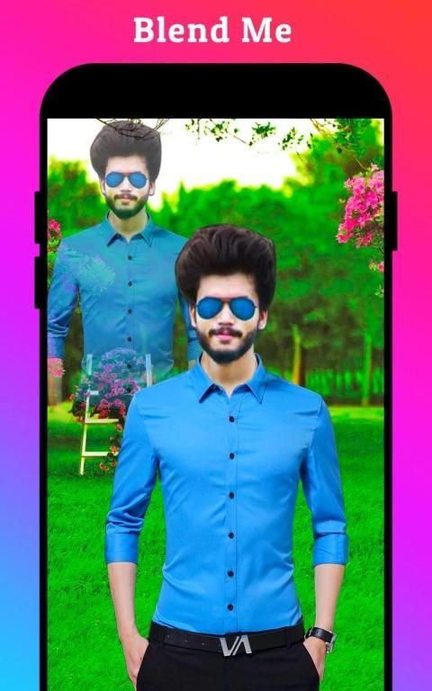 Men Formal Shirt Photo Editor स्क्रीनशॉट 19