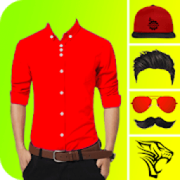 Men Formal Shirt Photo Editor आइकन