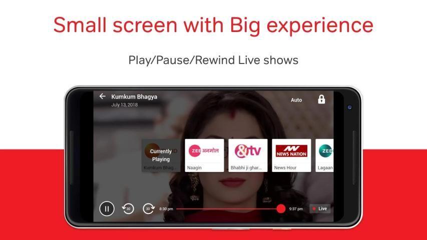 Airtel TV: Live TV, News, Movies, TV Shows स्क्रीनशॉट 6