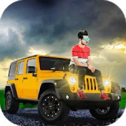 Jeep Photo Editor : Stylish Jeep photo maker
