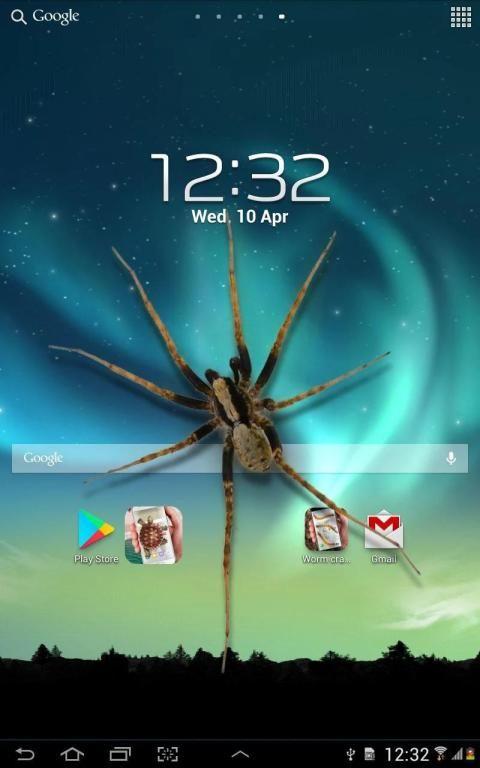 Spider in phone funny joke 4 تصوير الشاشة
