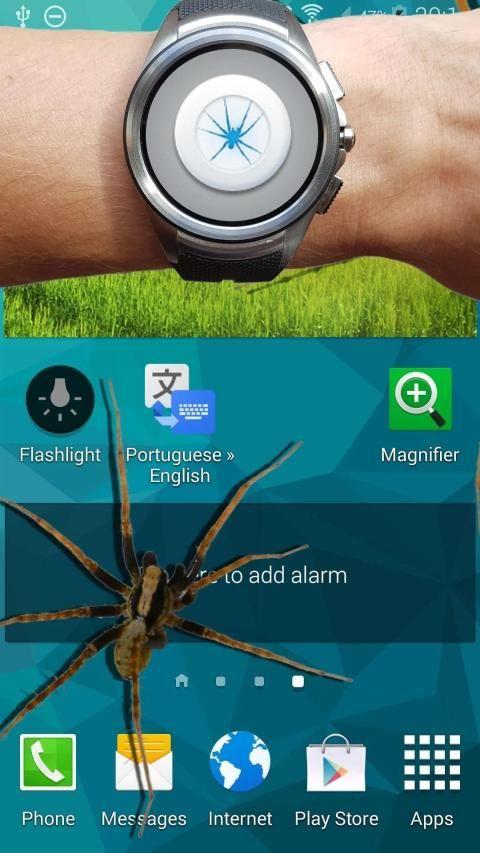 Spider in phone funny joke 1 تصوير الشاشة