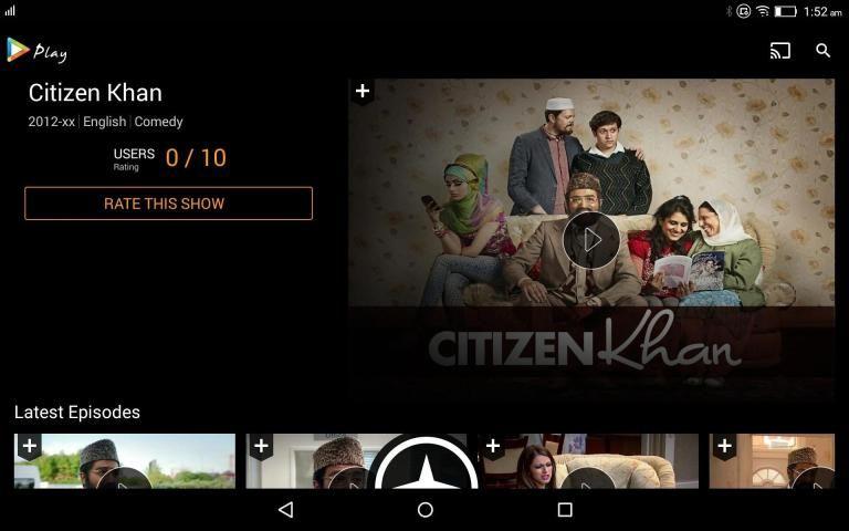 Hungama Play: Movies & Videos स्क्रीनशॉट 1