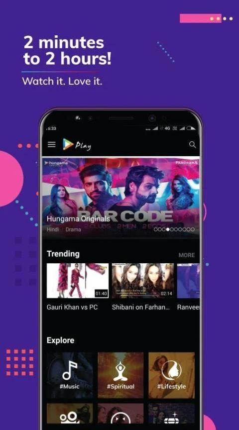 Hungama Play: Movies & Videos स्क्रीनशॉट 12