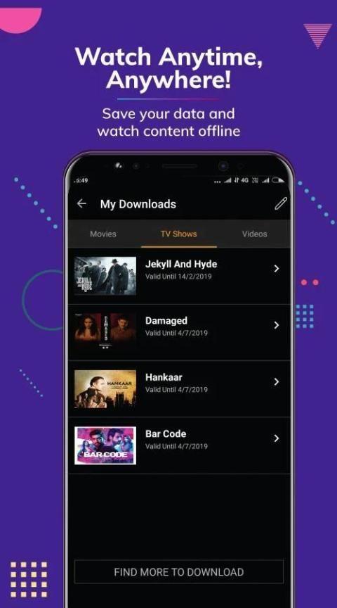 Hungama Play: Movies & Videos स्क्रीनशॉट 7