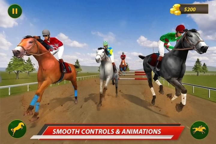 Horse Racing & Stunts Show: Derby Racer 6 تصوير الشاشة