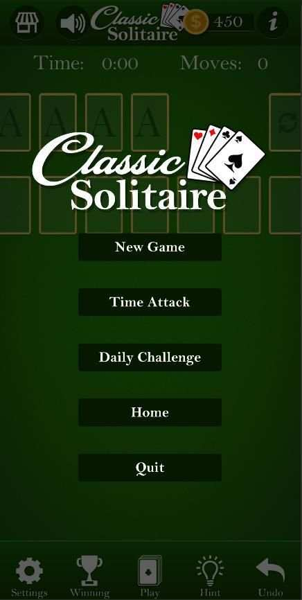 Classic Solitaire - Without Ads screenshot 2