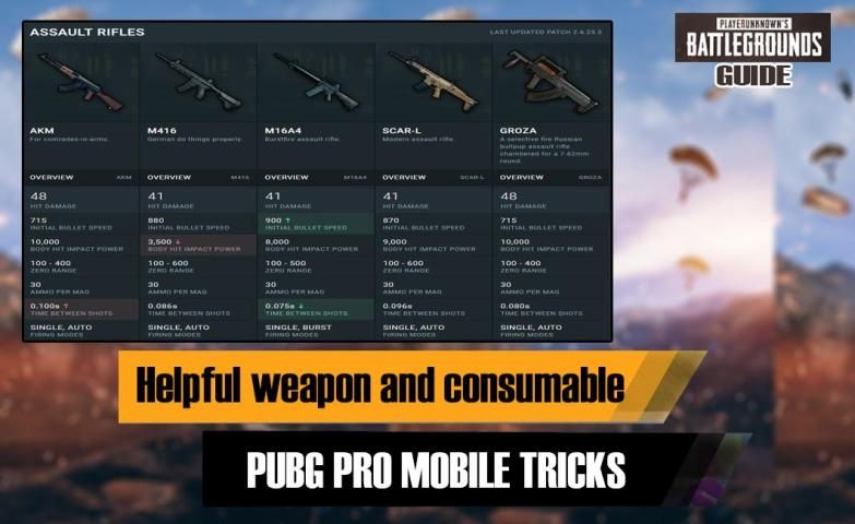 Tips for PUPG guide 2020 screenshot 1