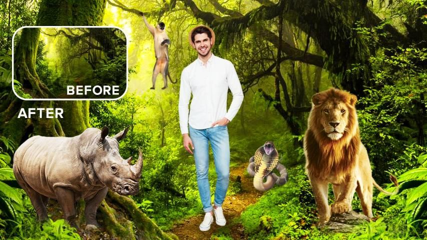 Wild Animal Photo Editor : Wild Animal Photo Frame screenshot 10