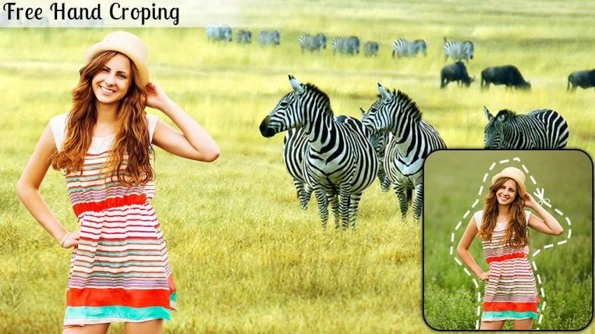 Wild Animal Photo Editor : Wild Animal Photo Frame screenshot 4
