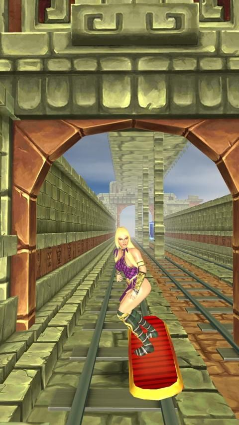 Warrior Princess - Road To Temple screenshot 1