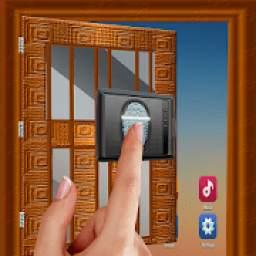 Door Lock Fingerprint Prank