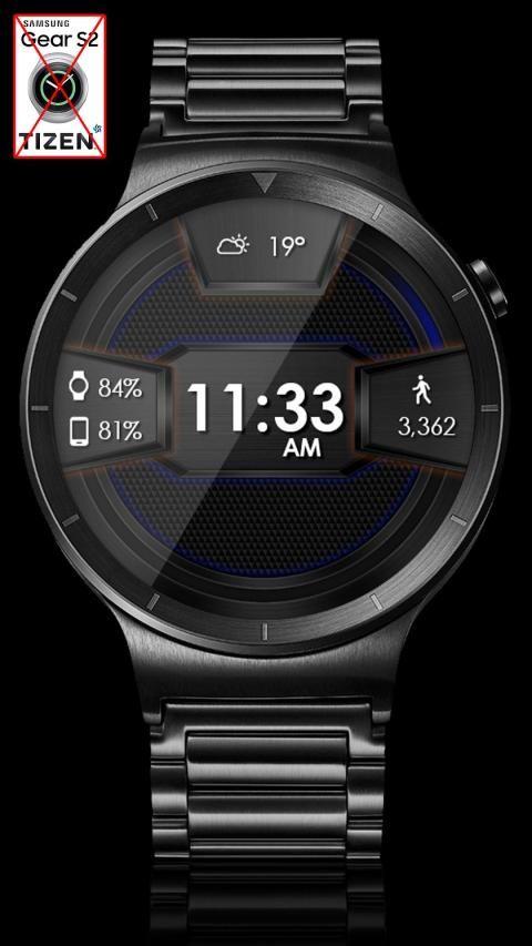 Daring Carbon HD WatchFace Widget Live Wallpaper 9 تصوير الشاشة