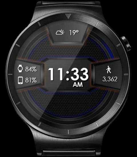 Daring Carbon HD WatchFace Widget Live Wallpaper 4 تصوير الشاشة