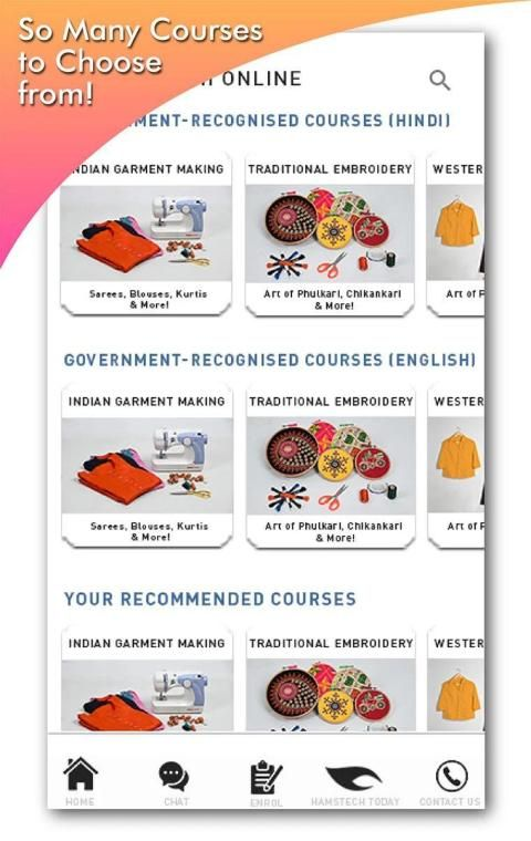 Learn Govt-Recognised Fashion Courses at Home Now! screenshot 10