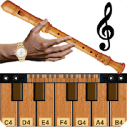Real Flute & Recorder - Magic Tiles Music Games أيقونة