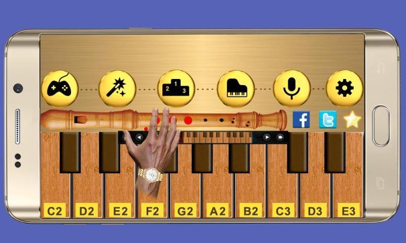 Real Flute & Recorder - Magic Tiles Music Games 5 تصوير الشاشة