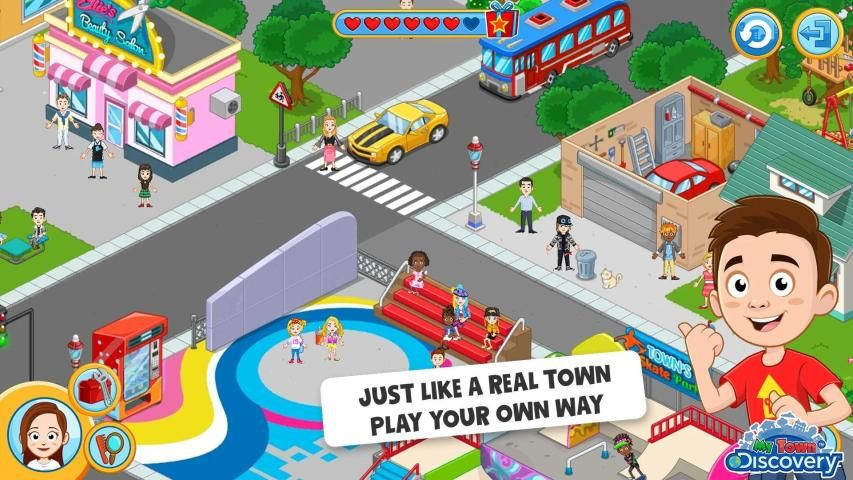 My Town : Discovery Pretend Play आइकन