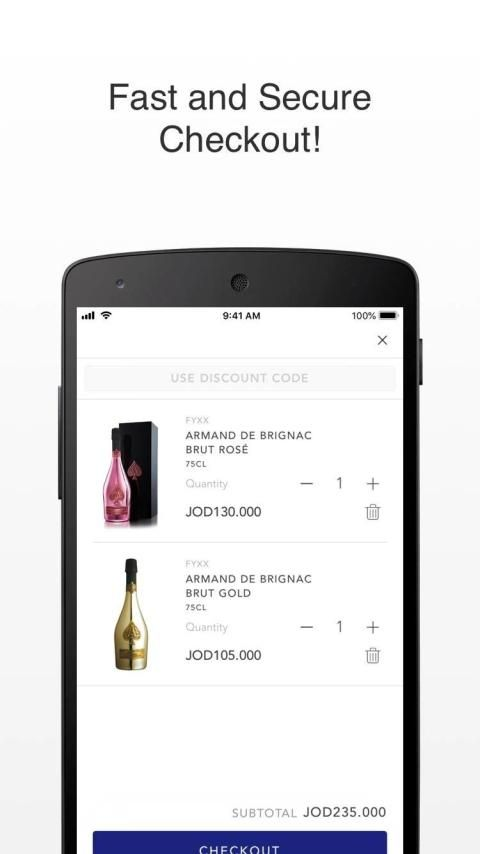 Fyxx: Alcohol Delivery screenshot 1