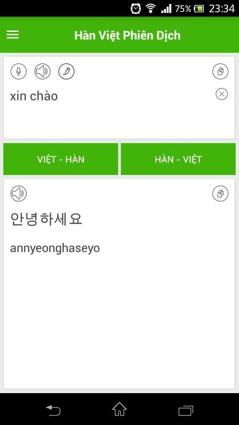 Dich tieng Han screenshot 3