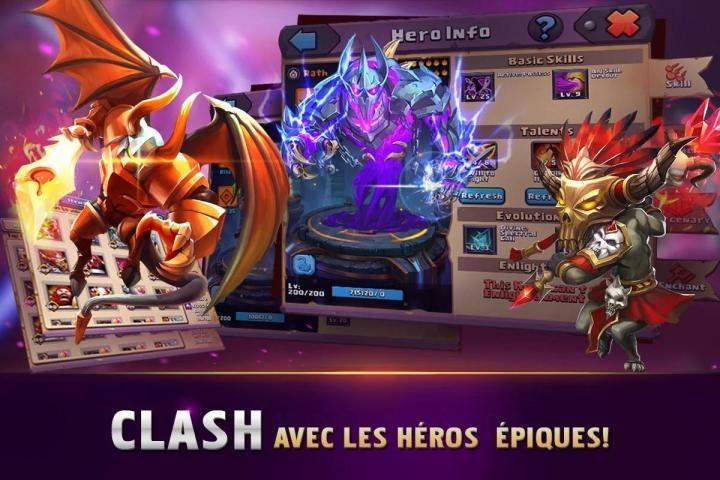 Clash of Lords 2: Clash Divin screenshot 2