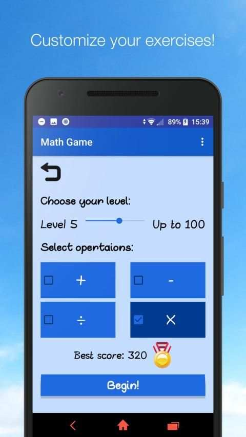 Math Game - Unlimited Math Practice स्क्रीनशॉट 6