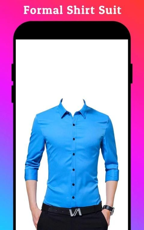 Men Formal Shirt Photo Editor स्क्रीनशॉट 35