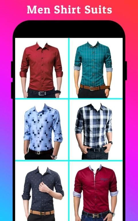 Men Formal Shirt Photo Editor स्क्रीनशॉट 21