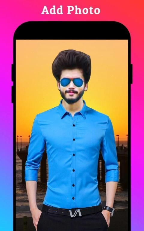 Men Formal Shirt Photo Editor स्क्रीनशॉट 33