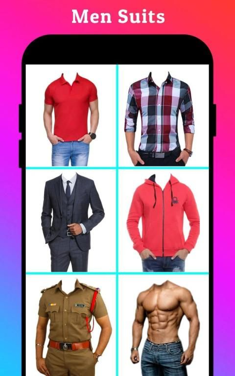 Men Formal Shirt Photo Editor स्क्रीनशॉट 11