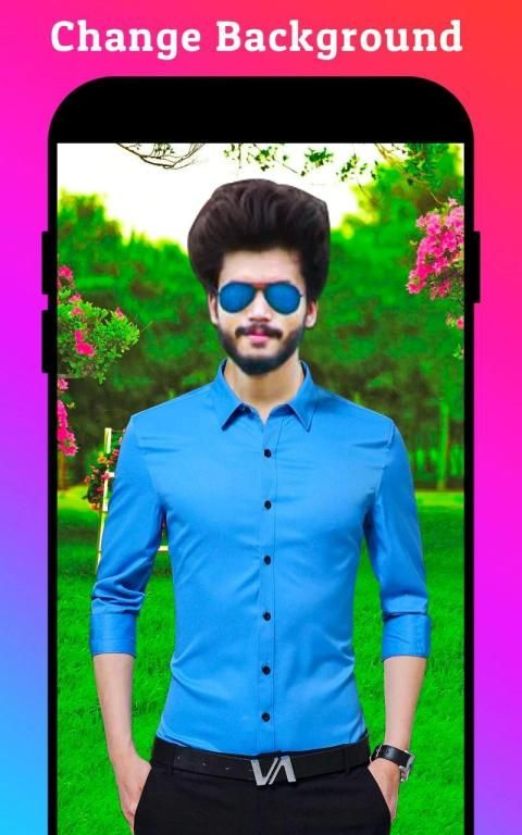 Men Formal Shirt Photo Editor स्क्रीनशॉट 30