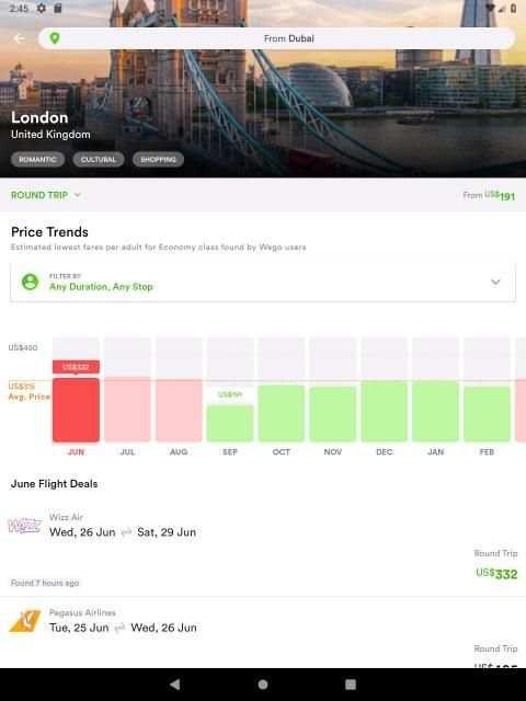 Wego Flights, Hotels, Travel Deals Booking App screenshot 18