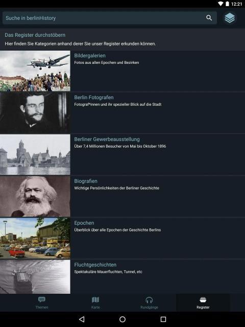 berlinHistory - Berlin history by location 1 تصوير الشاشة