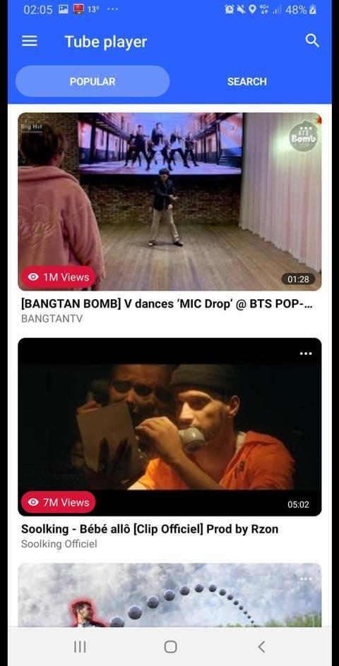 Minimize YouTube in background 1 تصوير الشاشة