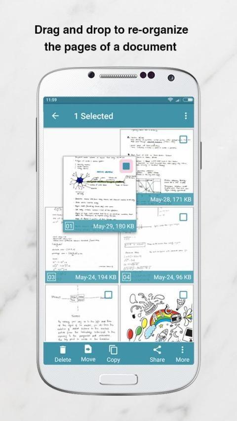 Notebloc PDF Scanner App - Scan, save & share screenshot 18