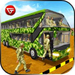 Army Bus Driver - US Military Soldier Transporter