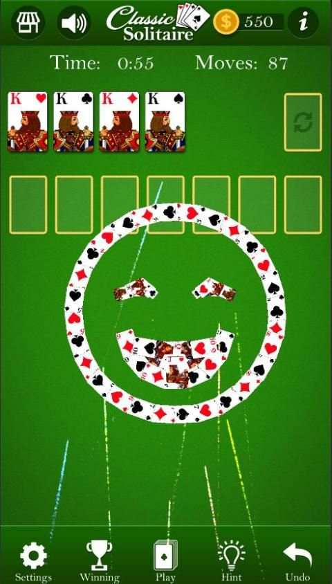 Classic Solitaire - Without Ads screenshot 4