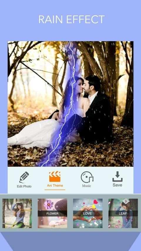 Heart Photo Effect Video Maker screenshot 3