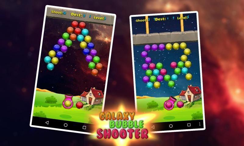 Galaxy Bubble Shooter 3 تصوير الشاشة