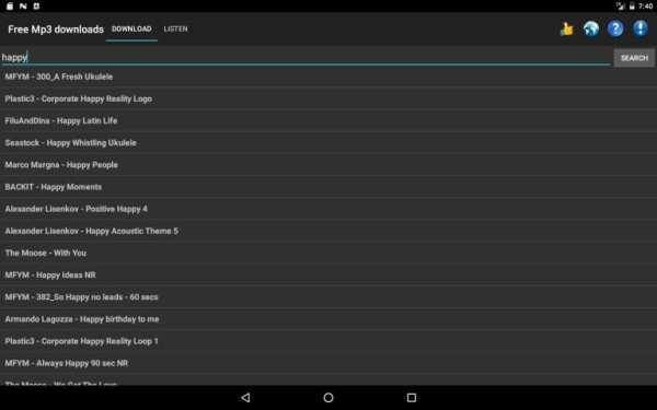 Free Mp3 Downloads screenshot 7